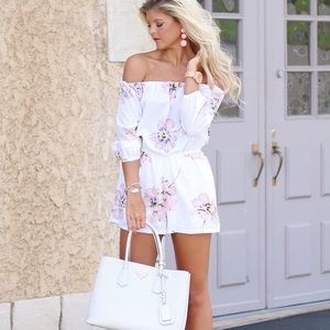 Other - Floral, Printed Romper
